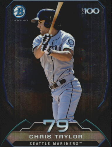 Photo of 2014 Bowman Chrome Top 100 Prospects #BTP79 Chris Taylor