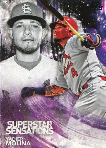 Photo of 2018 Topps Superstar Sensations #SSS32 Yadier Molina