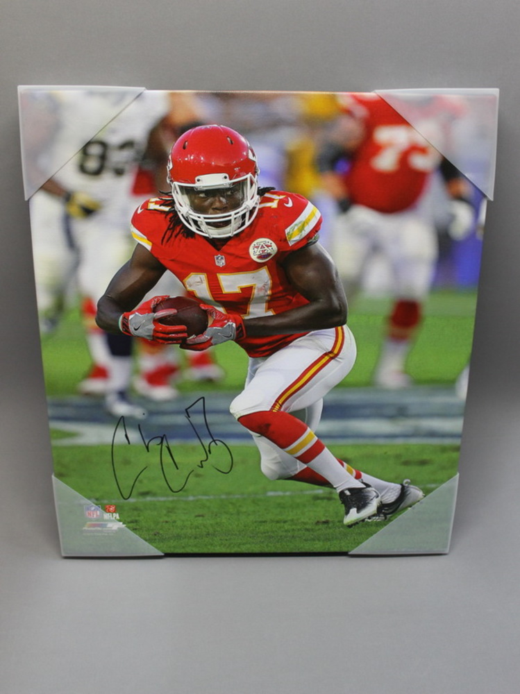 CHRIS CONLEY SIGNED 16x20 CANVAS PRINT