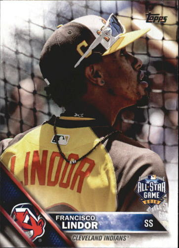 Photo of 2016 Topps Update #US275 Francisco Lindor AS