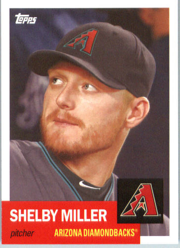 Photo of 2016 Topps Archives #66 Shelby Miller