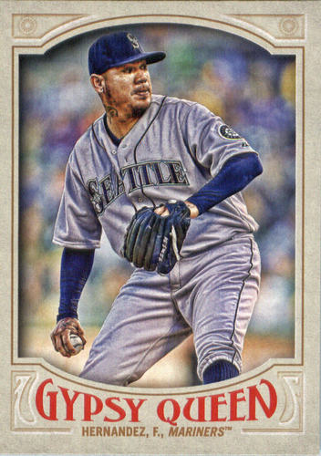 Photo of 2016 Topps Gypsy Queen #150 Felix Hernandez