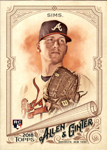 Photo of 2018 Topps Allen and Ginter #103 Lucas Sims RC