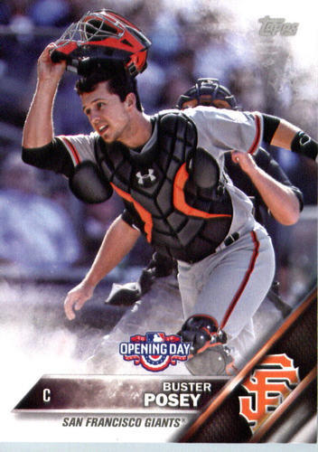 Photo of 2016 Topps Opening Day #OD183A Buster Posey