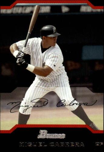 Photo of 2004 Bowman #61 Miguel Cabrera