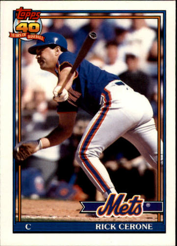 Photo of 1991 Topps Traded #21T Rick Cerone