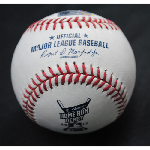 Photo of 2017 Home Run Derby (07/10/2017) - Game-Used Baseball - Cody Bellinger (Los Angeles Dodgers) - Round 1, Out