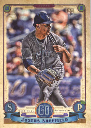 Photo of 2019 Topps Gypsy Queen #187 Justus Sheffield RC