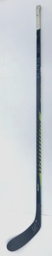 #38 Logan Shaw Game Used Stick - Autographed - Winnipeg Jets