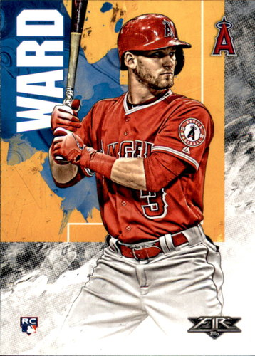 Photo of 2019 Topps Fire #42 Taylor Ward RC