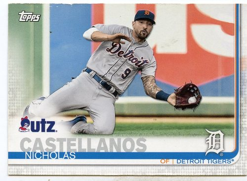 Photo of 2019 Topps Utz #100 Nicholas Castellanos