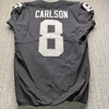 London Games - Raiders Daniel Carlson Game Used Jersey (11/24/19) Size 44