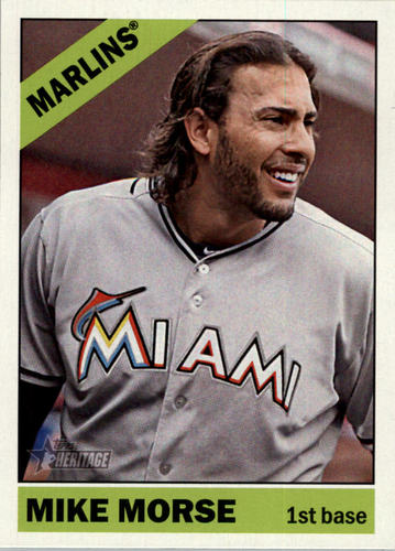Photo of 2015 Topps Heritage #278 Mike Morse