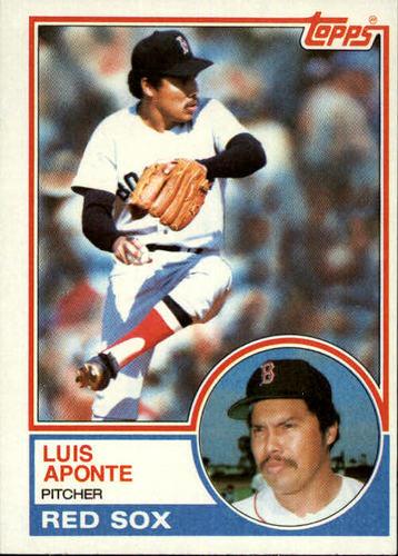 Photo of 1983 Topps #577 Luis Aponte