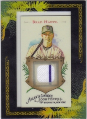 Photo of 2008 Topps Allen and Ginter Relics #BH Brad Hawpe Jsy C