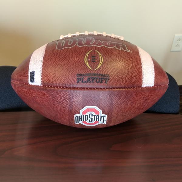 Photo of Ohio State Football Game Ball (Indiana)