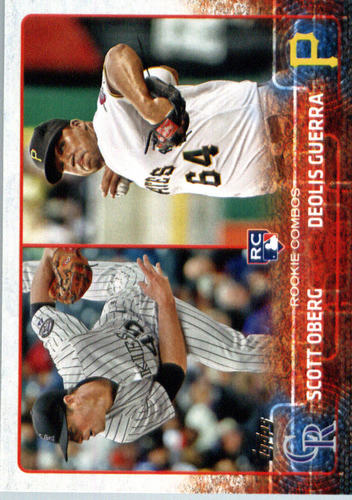 Photo of 2015 Topps Update #US312 Scott Oberg RC/Deolis Guerra Rookie Card -- Rockies post-season