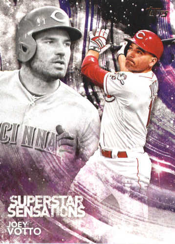 Photo of 2018 Topps Superstar Sensations #SSS33 Joey Votto