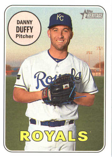 Photo of 2018 Topps Heritage #142 Danny Duffy