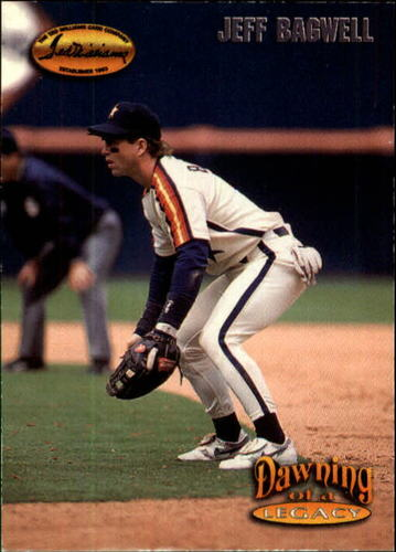 Photo of 1993 Ted Williams #157 Jeff Bagwell/Movin' Up Then Out