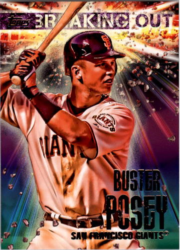 Photo of 2014 Topps Opening Day Breaking Out #BO5 Buster Posey