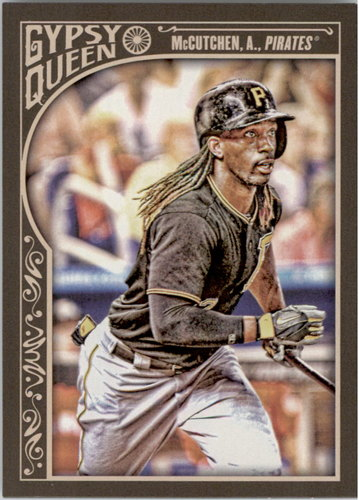 Photo of 2015 Topps Gypsy Queen #34A Andrew McCutchen