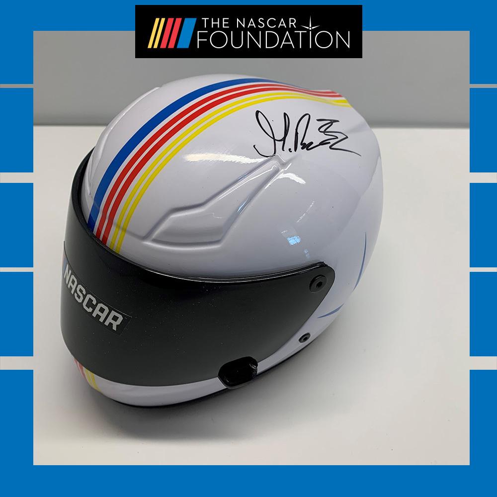 NASCAR's Harrison Burton Autographed Helmet!