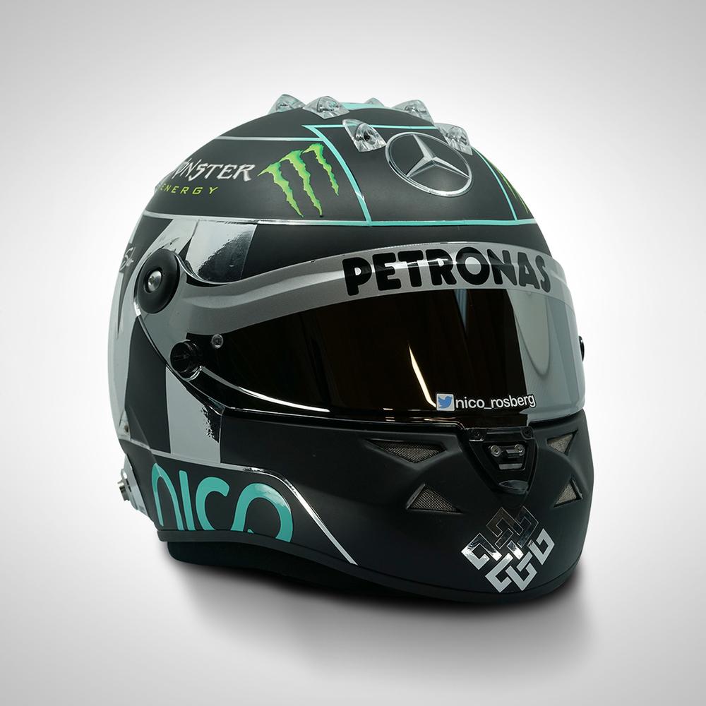 Nico Rosberg 2015 1:1 Replica Helmet