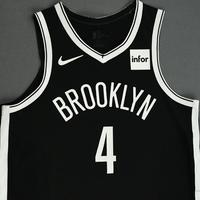 Henry Ellenson - Brooklyn Nets - NBA China Games - Game-Issued Icon Edition Jersey - 2019-20 NBA Season