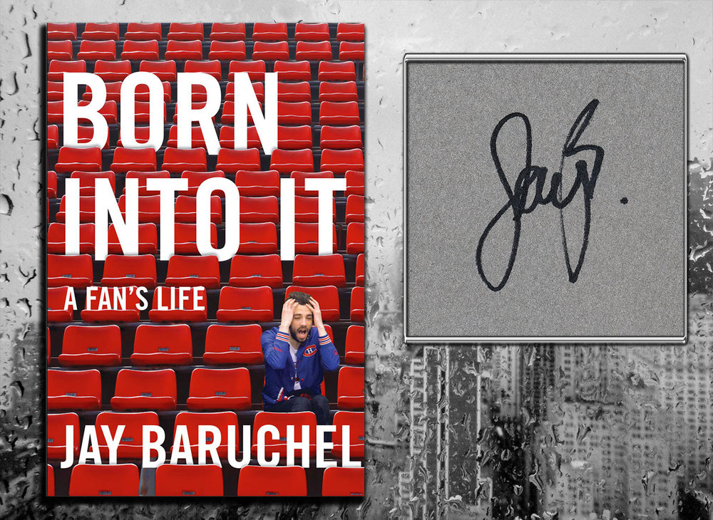 Jay Baruchel BORN INTO IT A Fan's Life Signed Softcover Book