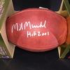 HOF - Oilers Mike Munchak Signed Authentic Football