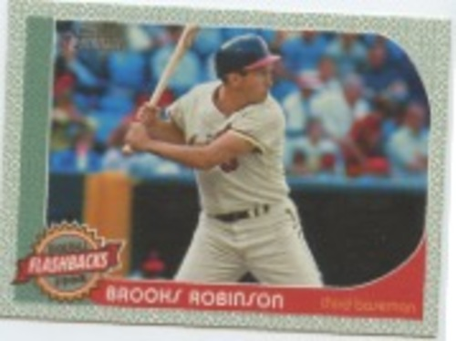 Photo of 2017 Topps Heritage Baseball Flashbacks #BFBR Brooks Robinson