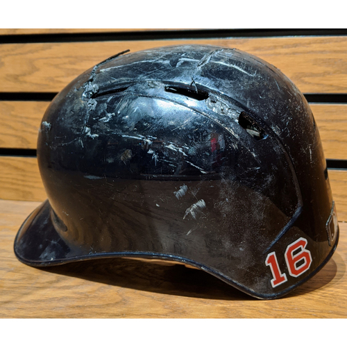 Photo of Andrew Benintendi Game Used Batting Helmet