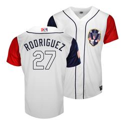 Photo of Rick Rodriguez #27 Las Vegas Aviators 2021 July Fourth Jersey