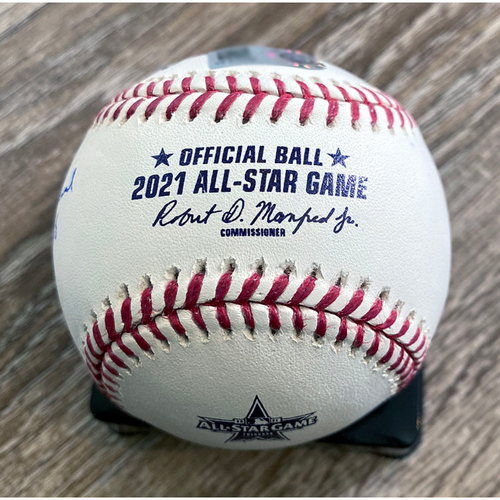 Photo of UMPS CARE AUCTION: Crew Signed 2021 All-Star Game Baseball