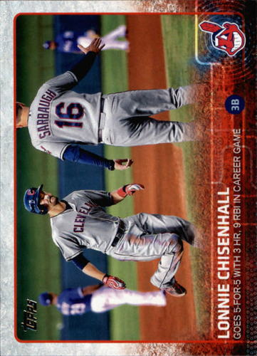 Photo of 2015 Topps #444 Lonnie Chisenhall HL