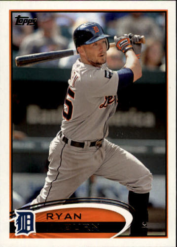 Photo of 2012 Topps #282 Ryan Raburn