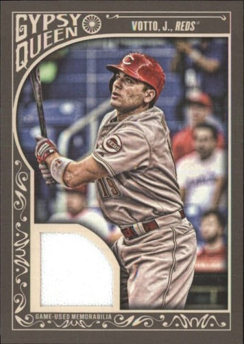 Photo of 2015 Topps Gypsy Queen Relics #GQRJVO Joey Votto