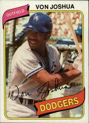 Photo of 1980 Topps #209 Von Joshua