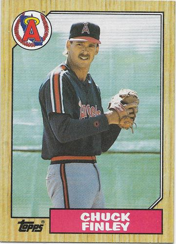 Photo of 1987 Topps #446 Chuck Finley RC