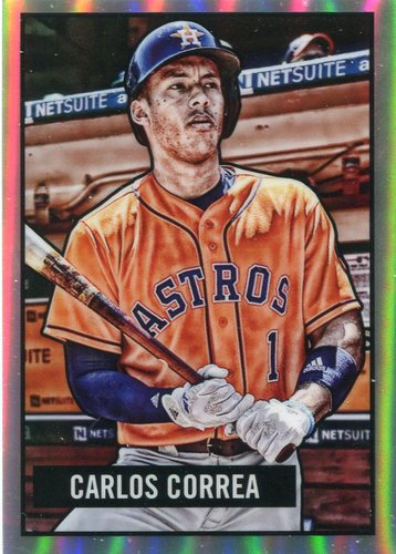 Photo of 2017 Bowman Chrome '51 Bowman Refractors #11 Carlos Correa