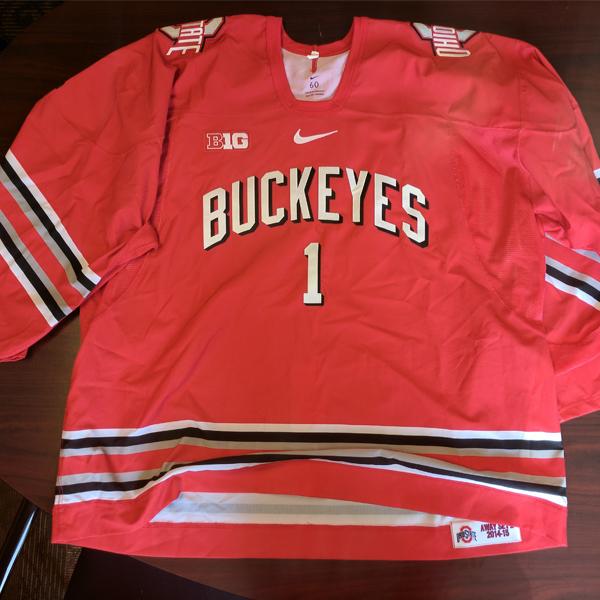 Photo of Ohio State Men's Ice Hockey Jersey (#1)