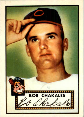 Photo of 1983 Topps 1952 Reprint #120 Bob Chakales