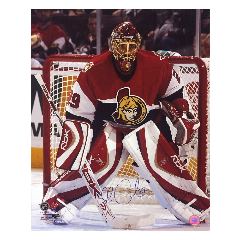 MARTIN GERBER Signed Ottawa Senators 16 X 20 Photo - 79071