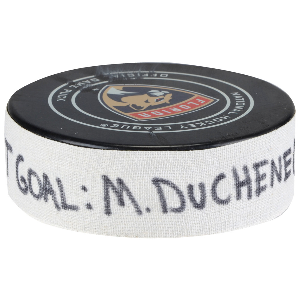 Matt Duchene Ottawa Senators Goal Scored Puck from March 12, 2018 @ Florida Panthers - Second Goal of Two Goals Scored
