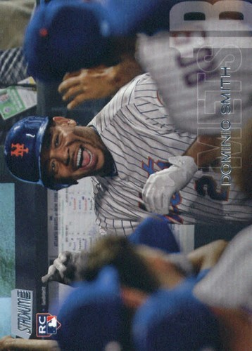 Photo of 2018 Stadium Club #274 Dominic Smith RC