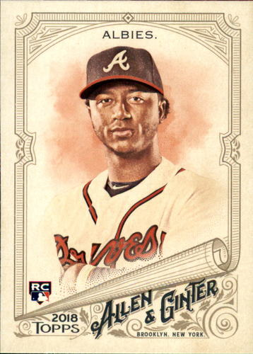 Photo of 2018 Topps Allen and Ginter #116 Ozzie Albies RC