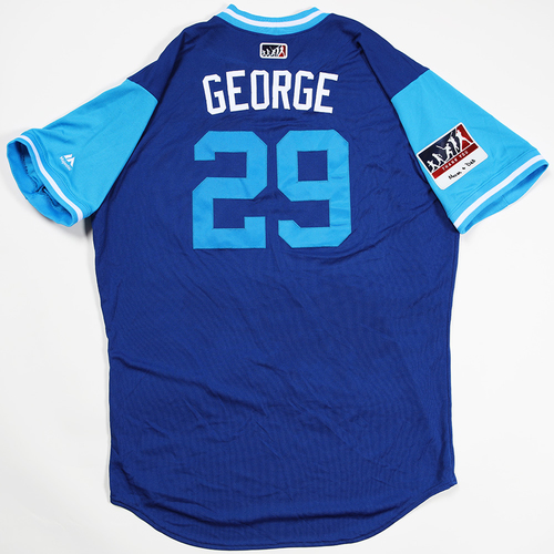 "Photo of Jorge ""George"" De La Rosa Chicago Cubs Game-Used 2018 Players' Weekend Jersey"