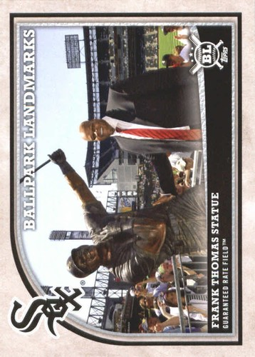 Photo of 2018 Topps Big League #353 Frank Thomas Statue