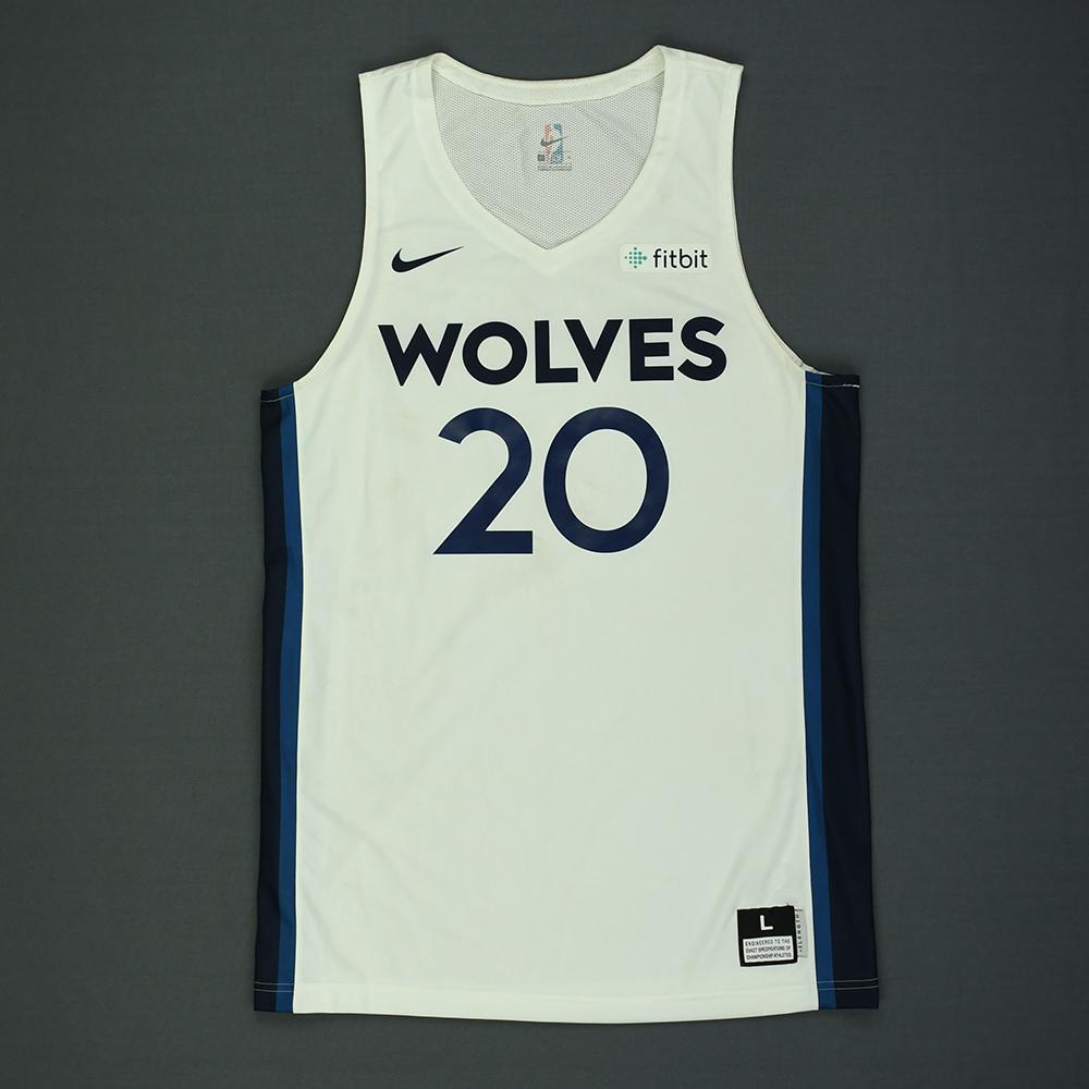 Josh Okogie - Minnesota Timberwolves - 2018 NBA Summer League - Game-Worn Jersey